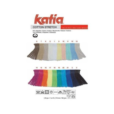 katia cotton stretch  7 braun