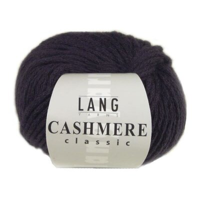 Cashmere Classic Lang Yarns 190 aubergine