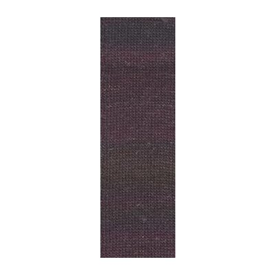 MILLE COLORI SOCKS & LACE LUXE aubergine-gold