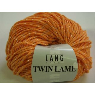 Twin lamé  Farbe: 159 orange