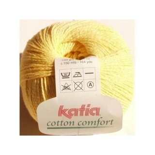 Cotton Comfort - 16 gelb