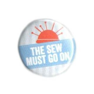 Button - the sew must go on