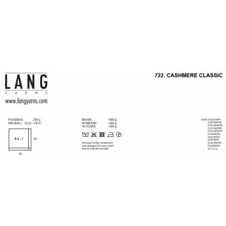 CASHMERE CLASSIC Wool from Lang Yarns