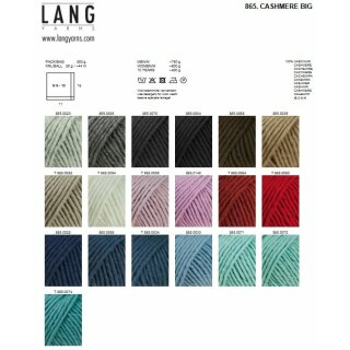 CASHMERE BIG Wool from Lang Yarns