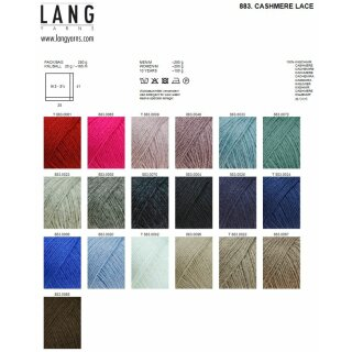 CASHMERE LACE Wool from Lang Yarns