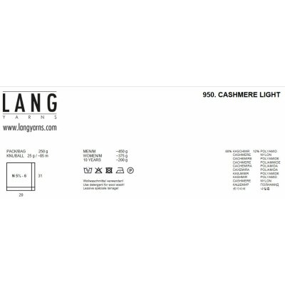 CASHMERE LIGHT Wool from Lang Yarns