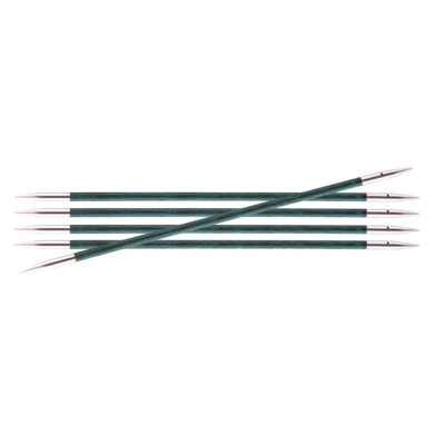 """Double Pointed Needles Royale  6"""" US 7 - Gray Onyx"""